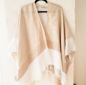 Camel cape scarf